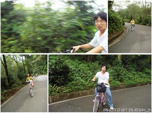 骑单车好辛苦哇